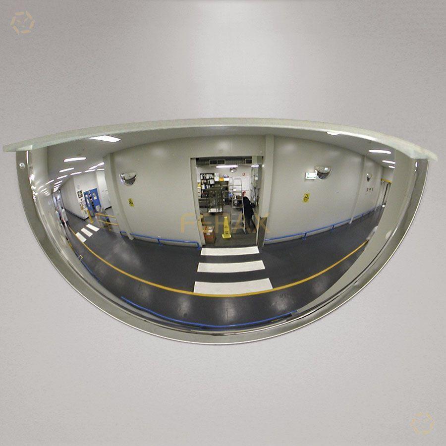 Espejos de vigilancia espejo hemisf rico 180 for Espejos para vigilancia